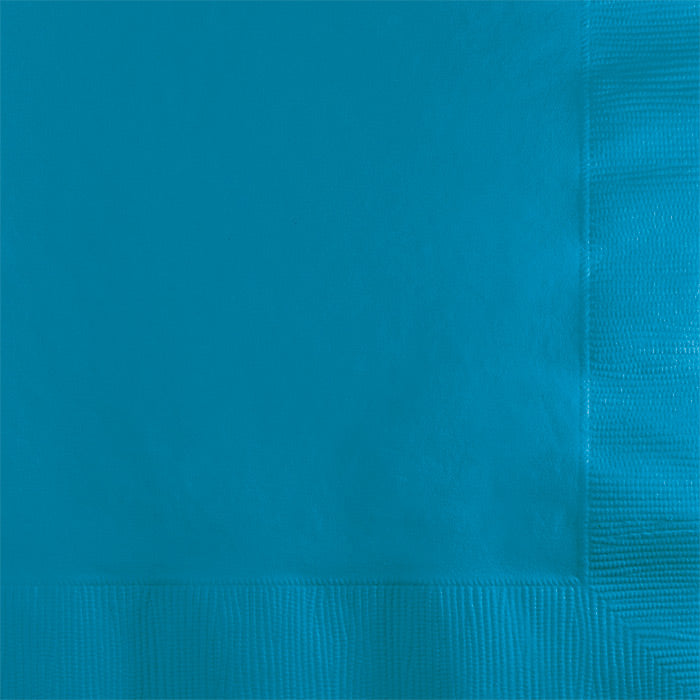 Turquoise Beverage Napkin 2Ply, 50 ct by Creative Converting