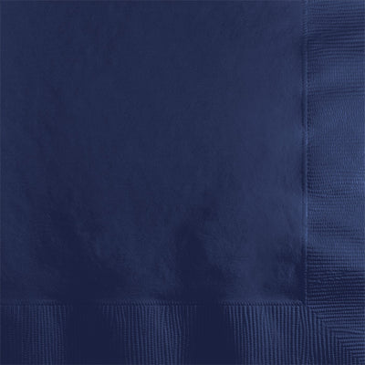 Navy Beverage Napkin 2Ply, 50 ct by Creative Converting