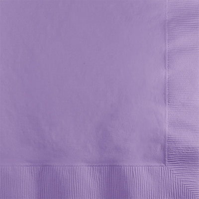 Luscious Lavender Beverage Napkin 2Ply, 50 ct by Creative Converting