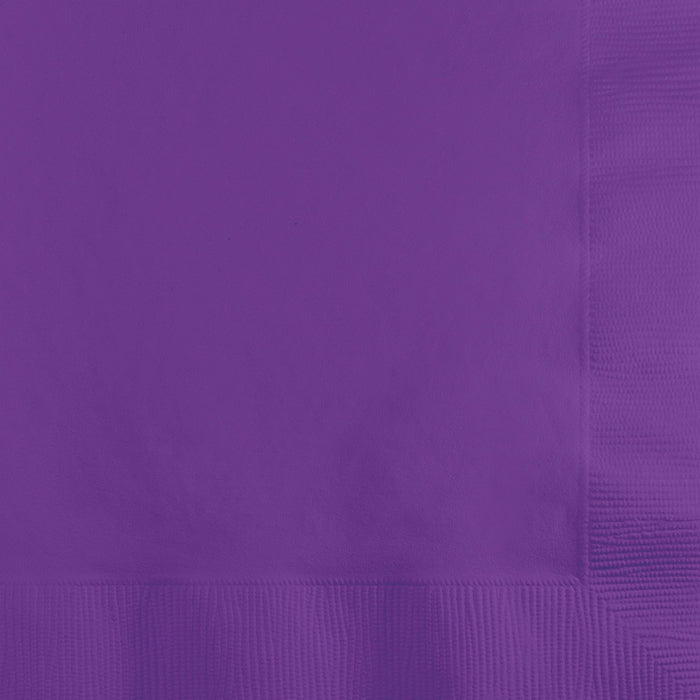 Amethyst Beverage Napkin, 3 Ply, 50 ct by Creative Converting