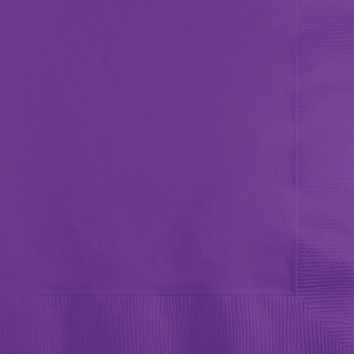Amethyst Beverage Napkin 2Ply, 50 ct by Creative Converting
