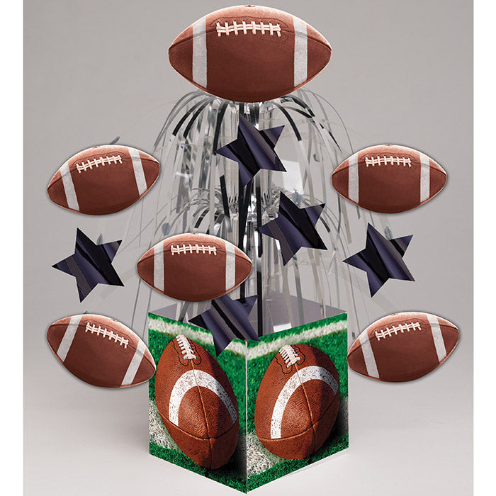 Tailgate Rush Cascading Foil Centerpiece by Creative Converting