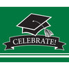 Graduation School Spirit Green Invitations, 25 ct by Creative Converting