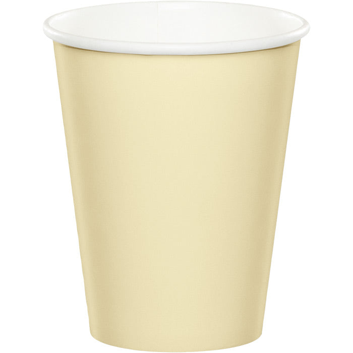 Ivory Hot/Cold Paper Cups 9 Oz., 24 ct by Creative Converting