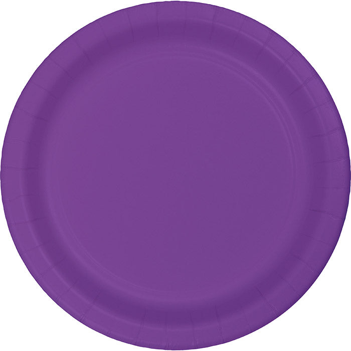 Amethyst Purple Banquet Plates, 24 ct by Creative Converting