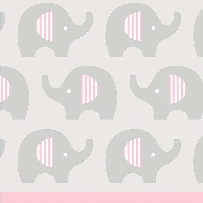 Little Peanut Girl Elephant Beverage Napkins, 16 ct by Creative Converting