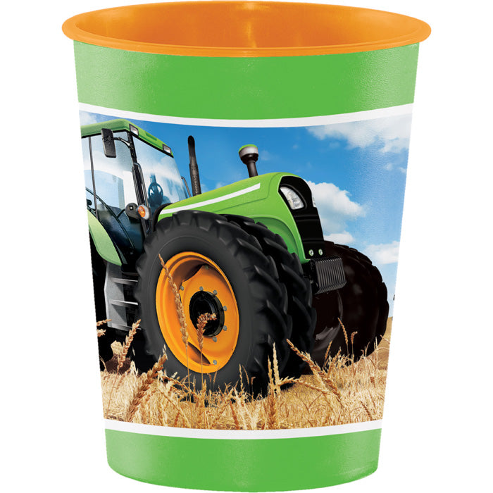 Tractor Time Plastic Keepsake Cup 16 Oz. by Creative Converting
