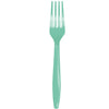 Fresh Mint Green Plastic Forks, 24 ct by Creative Converting