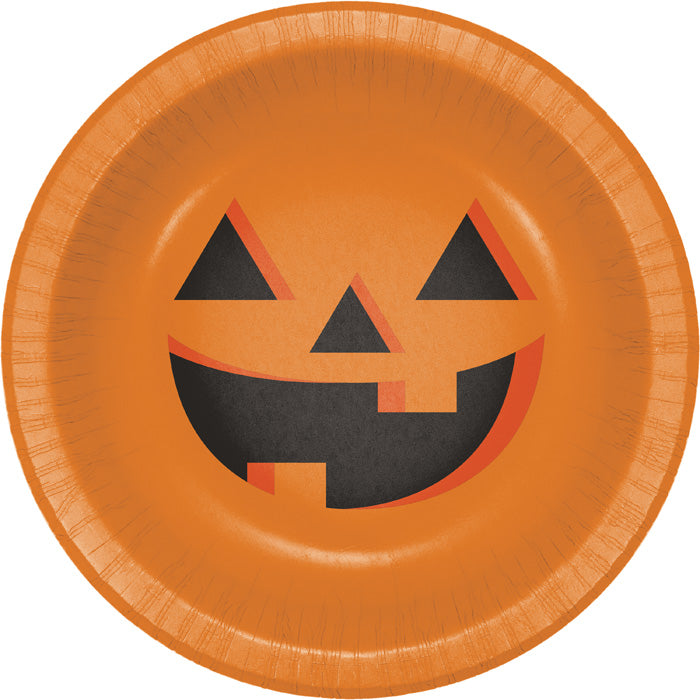Halloween Pumpkin 20 Oz. Paper Bowl, 8 ct by Creative Converting