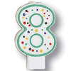 Polka Dot #8 Candle by Creative Converting