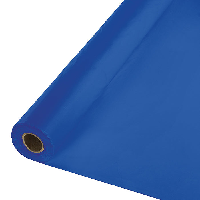 "Cobalt Banquet Roll 40"" X 250' by Creative Converting"