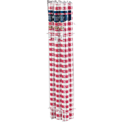 "Red Gingham Banquet Roll 40"" X 100' by Creative Converting"