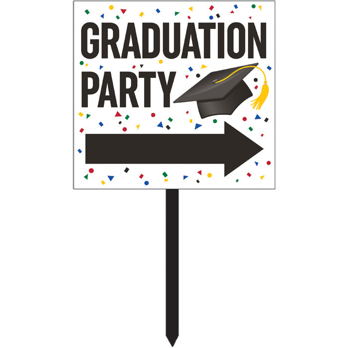 Graduation Yard Sign by Creative Converting