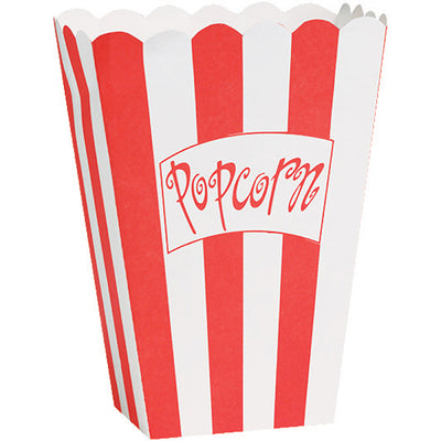 Hollywood Lights Popcorn Box Small, 8 ct by Creative Converting