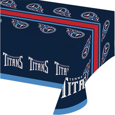 "Tennessee Titans Plastic Tablecloth, 54"" X 108"" by Creative Converting"