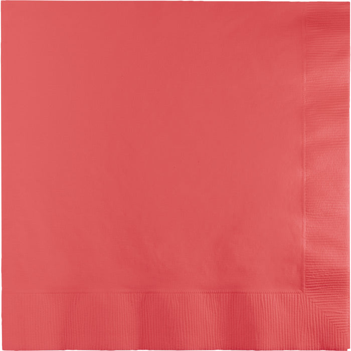 Coral Luncheon Napkin 2Ply, 50 ct by Creative Converting