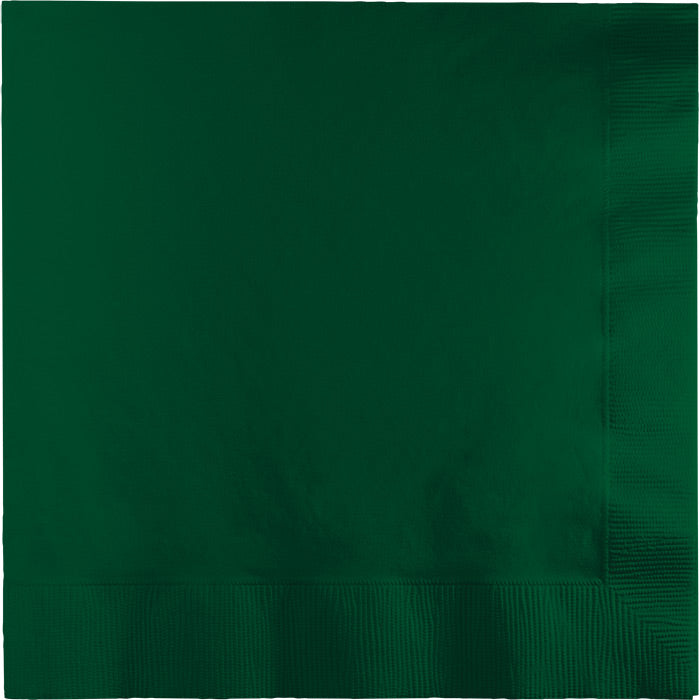 Hunter Green Luncheon Napkin 2Ply, 50 ct by Creative Converting