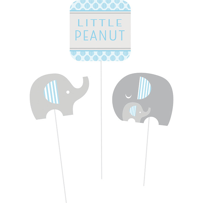 Little Peanut Boy Elephant Diy Centerpiece Sticks, 3 ct by Creative Converting