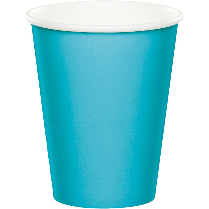Bermuda Blue Hot/Cold Paper Cups 9 Oz., 24 ct by Creative Converting