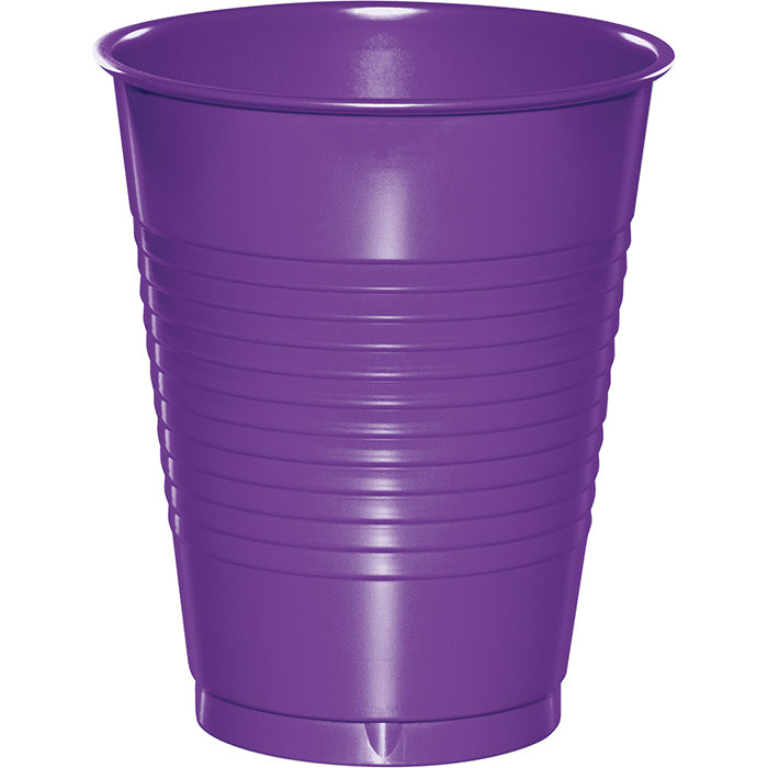Amethyst Purple Plastic Cups, 20 ct by Creative Converting