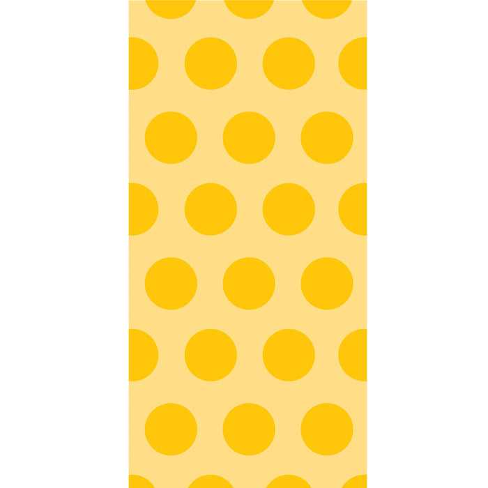 School Bus Yellow Polka Dot Favor Bags, 20 ct by Creative Converting