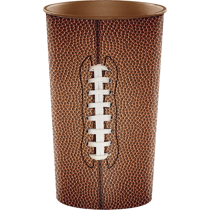 Football 22 Oz Plastic Cup by Creative Converting