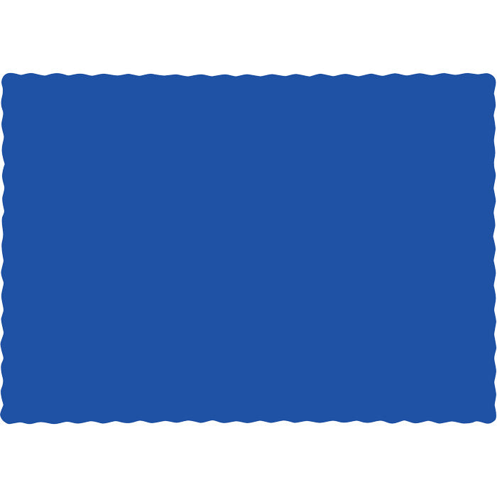 Cobalt Blue Placemats, 50 ct by Creative Converting