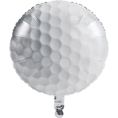"Sports Fanatic Golf Metallic Balloon 18"" by Creative Converting"
