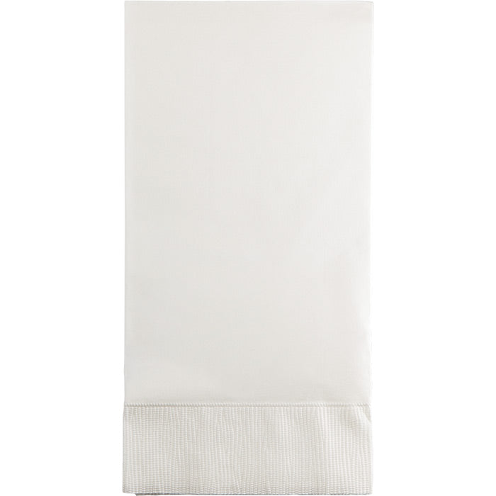 White Guest Towel, 3 Ply, 16 ct by Creative Converting