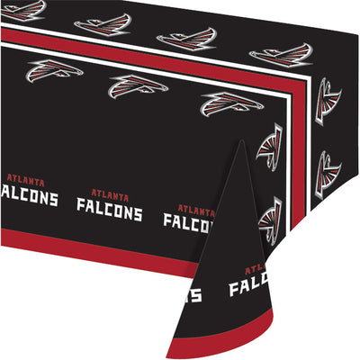 "Atlanta Falcons Plastic Tablecloth, 54"" X 108"" by Creative Converting"