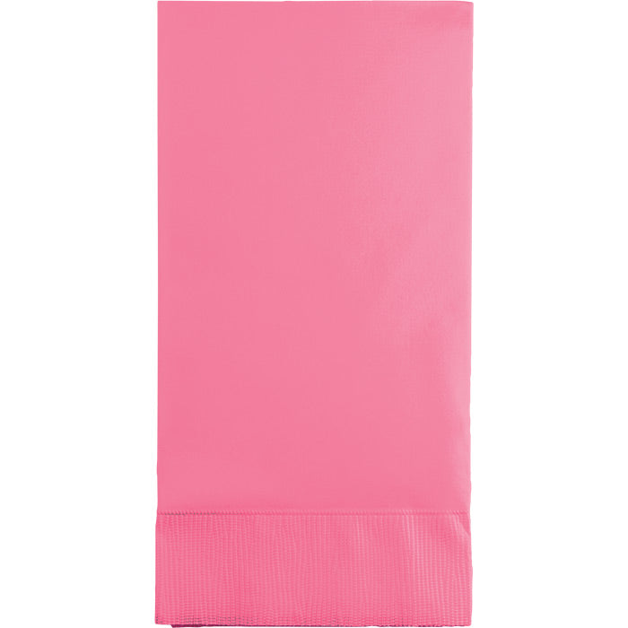 Candy Pink Guest Towel, 3 Ply, 16 ct by Creative Converting