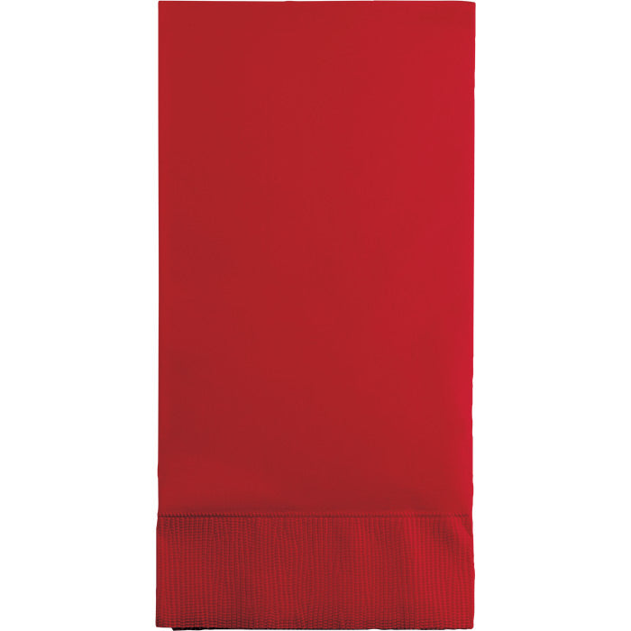 Classic Red Guest Towel, 3 Ply, 16 ct by Creative Converting