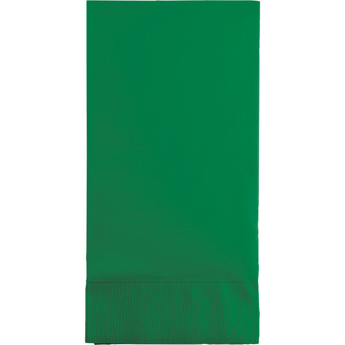 Emerald Green Guest Towel, 3 Ply, 16 ct by Creative Converting