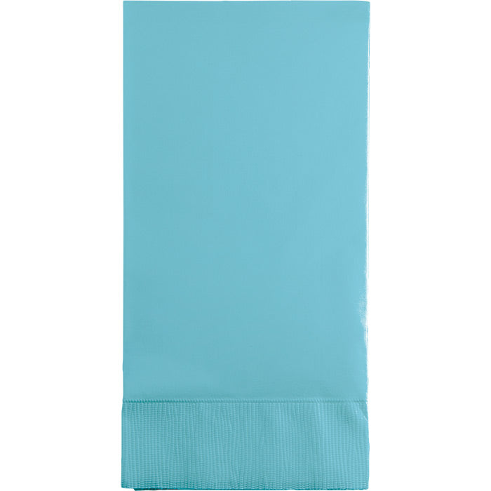 Pastel Blue Guest Towel, 3 Ply, 16 ct by Creative Converting