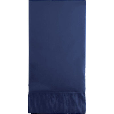 Navy Guest Towel, 3 Ply, 16 ct by Creative Converting