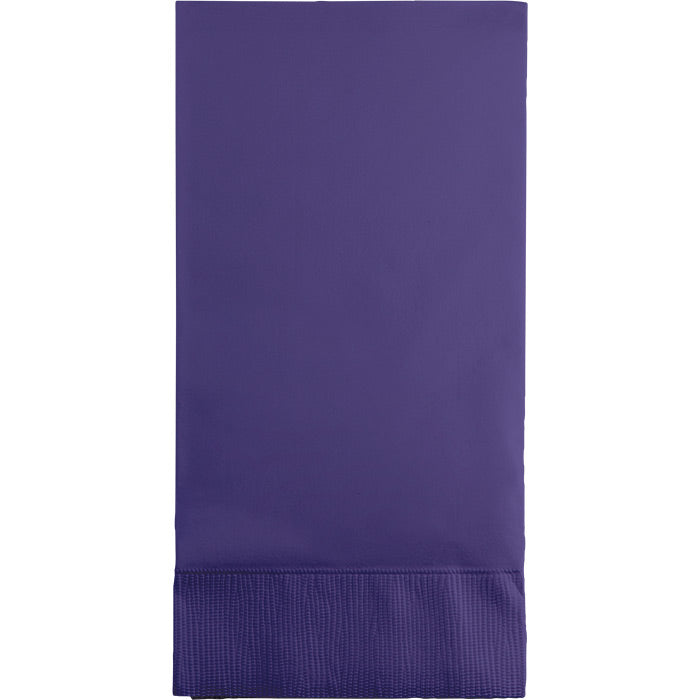 Purple Guest Towel, 3 Ply, 16 ct by Creative Converting