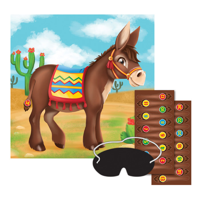Pin The Tail On The Donkey Game by Creative Converting