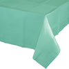 "Fresh Mint Tablecover 54""X 108"" Polylined Tissue by Creative Converting"
