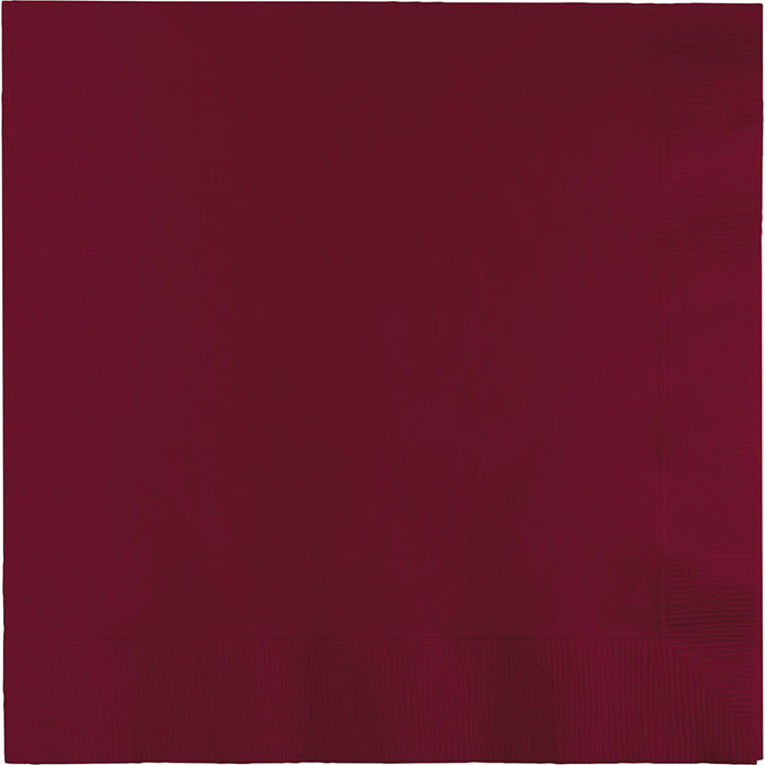 Burgundy Luncheon Napkin 3Ply, 50 ct by Creative Converting
