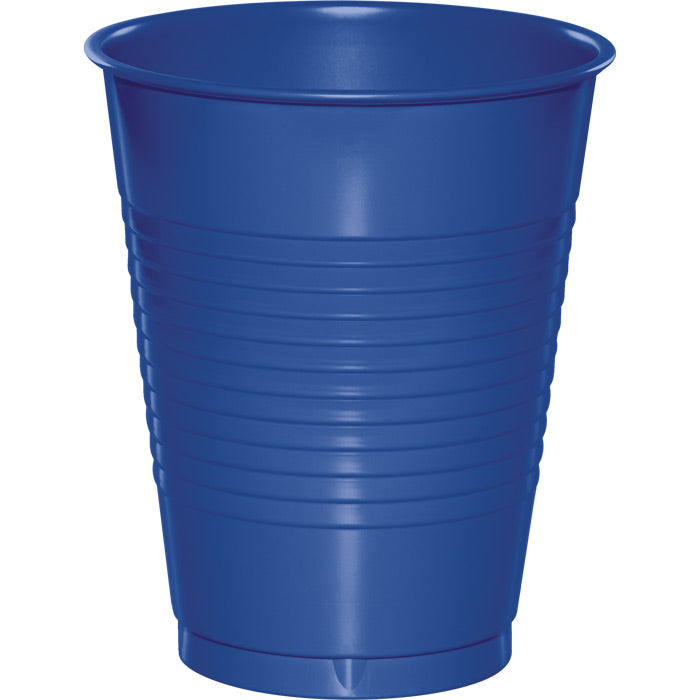 Cobalt Blue Plastic Cups, 20 ct by Creative Converting