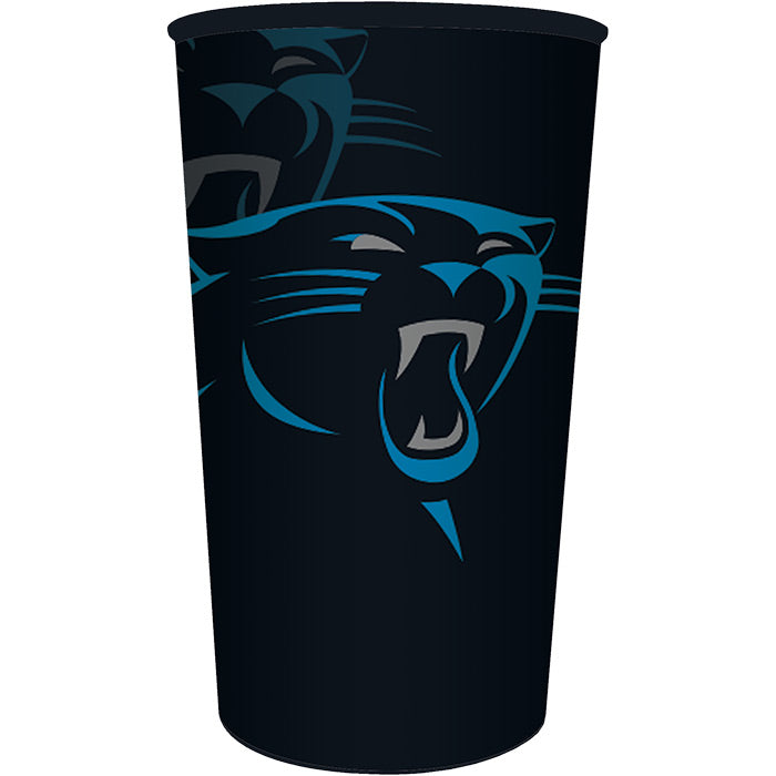Carolina Panthers Plastic Cup, 22 Oz by Creative Converting