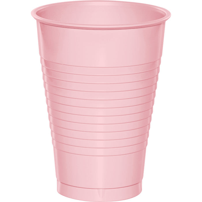 Classic Pink 12 Oz Plastic Cups, 20 ct by Creative Converting