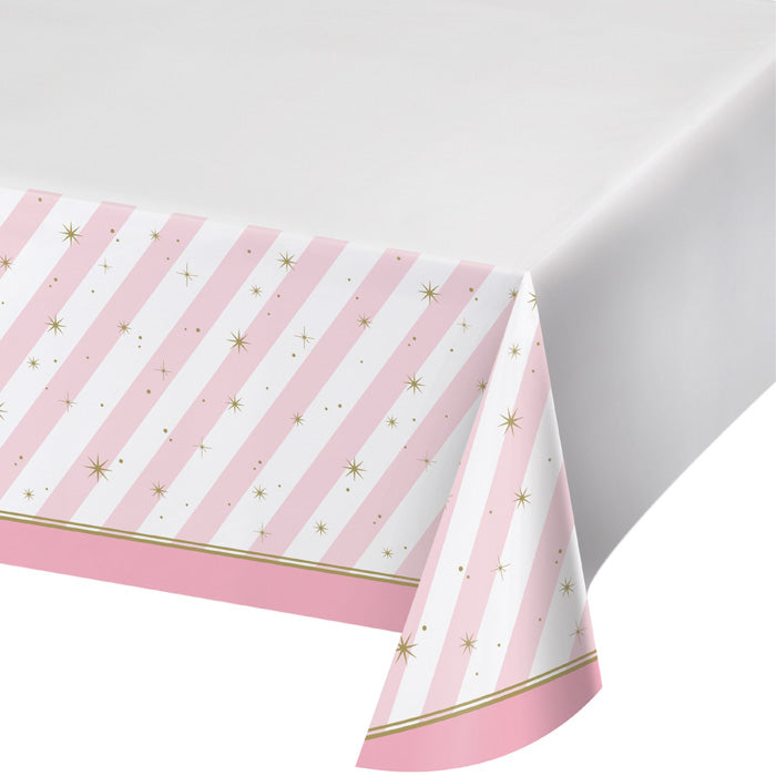 "Twinkle Toes Plastic Tablecover Border,  54"" X 102"" by Creative Converting"