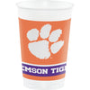 Clemson University 20 Oz Plastic Cups, 8 ct by Creative Converting