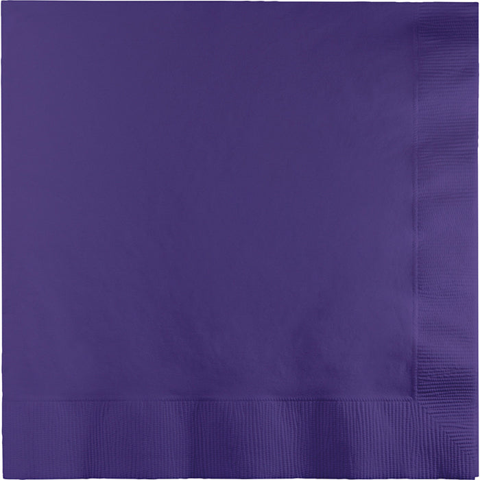 Purple Luncheon Napkin 3Ply, 50 ct by Creative Converting