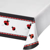 "Ladybug Fancy Tablecover Plastic 54"" X 108"" by Creative Converting"
