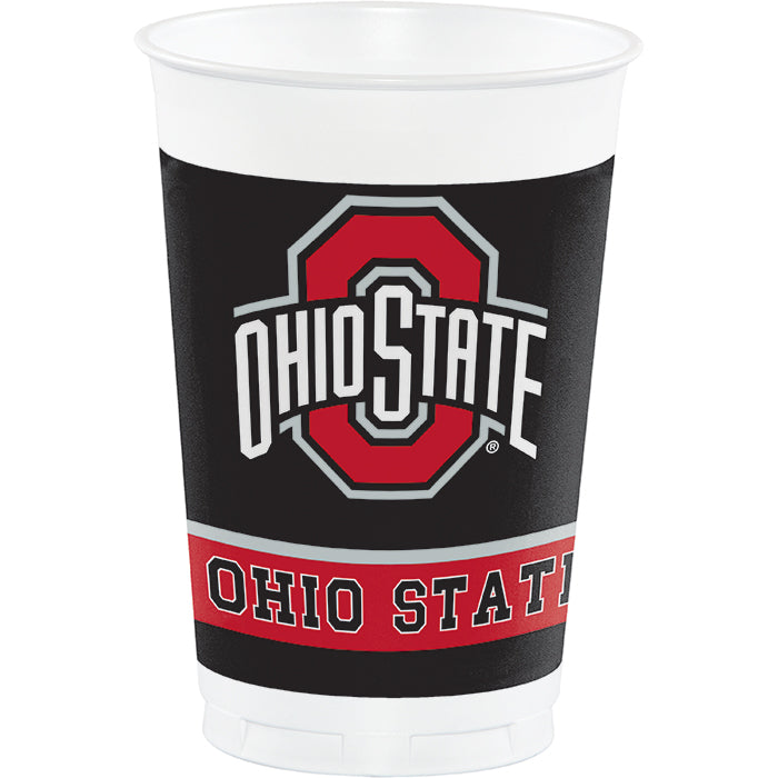 Ohio State University 20 Oz Plastic Cups, 8 ct by Creative Converting