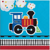 All Aboard Train Beverage Napkins, 16 ct by Creative Converting