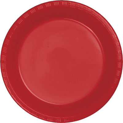 Classic Red Plastic Dessert Plates, 20 ct by Creative Converting