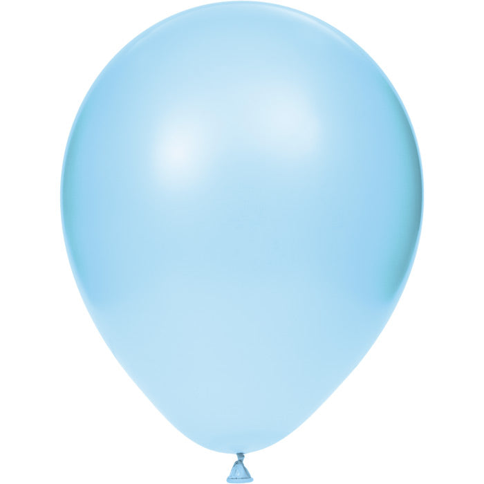 "Latex Balloons 12"" Pastel Blue, 15 ct by Creative Converting"